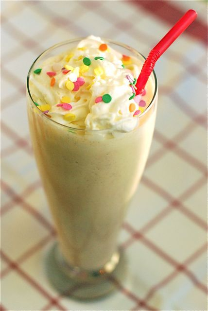 The Birthday Cake Batter Milkshake I want to try to make a