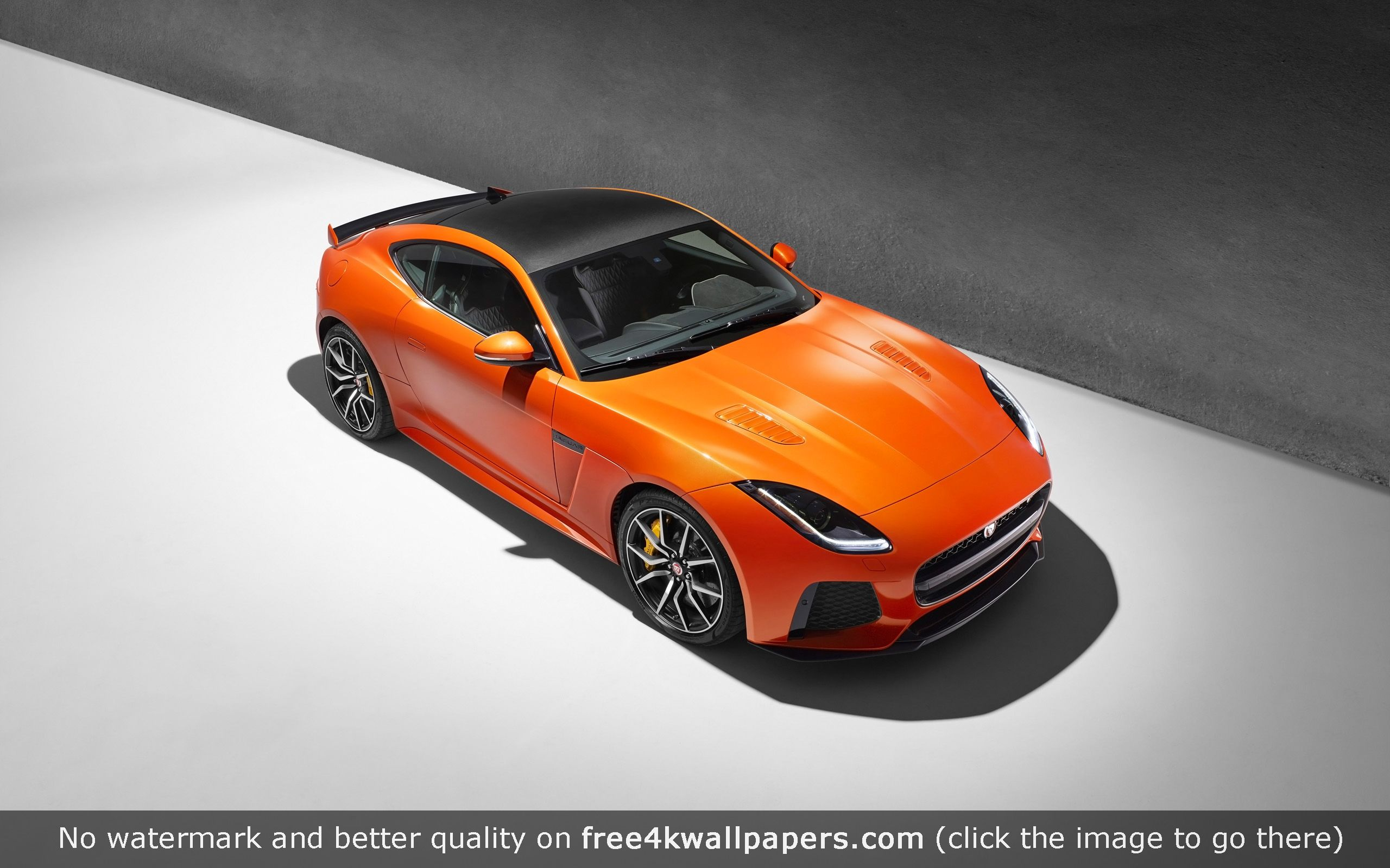 Jaguar f type svr coupe 4k or hd wallpaper for your pc mac or mobile