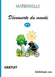 Cahier de découverte du monde, maternelle - Lulu la taupe, jeux gratuits pour enfants en 2020 ...