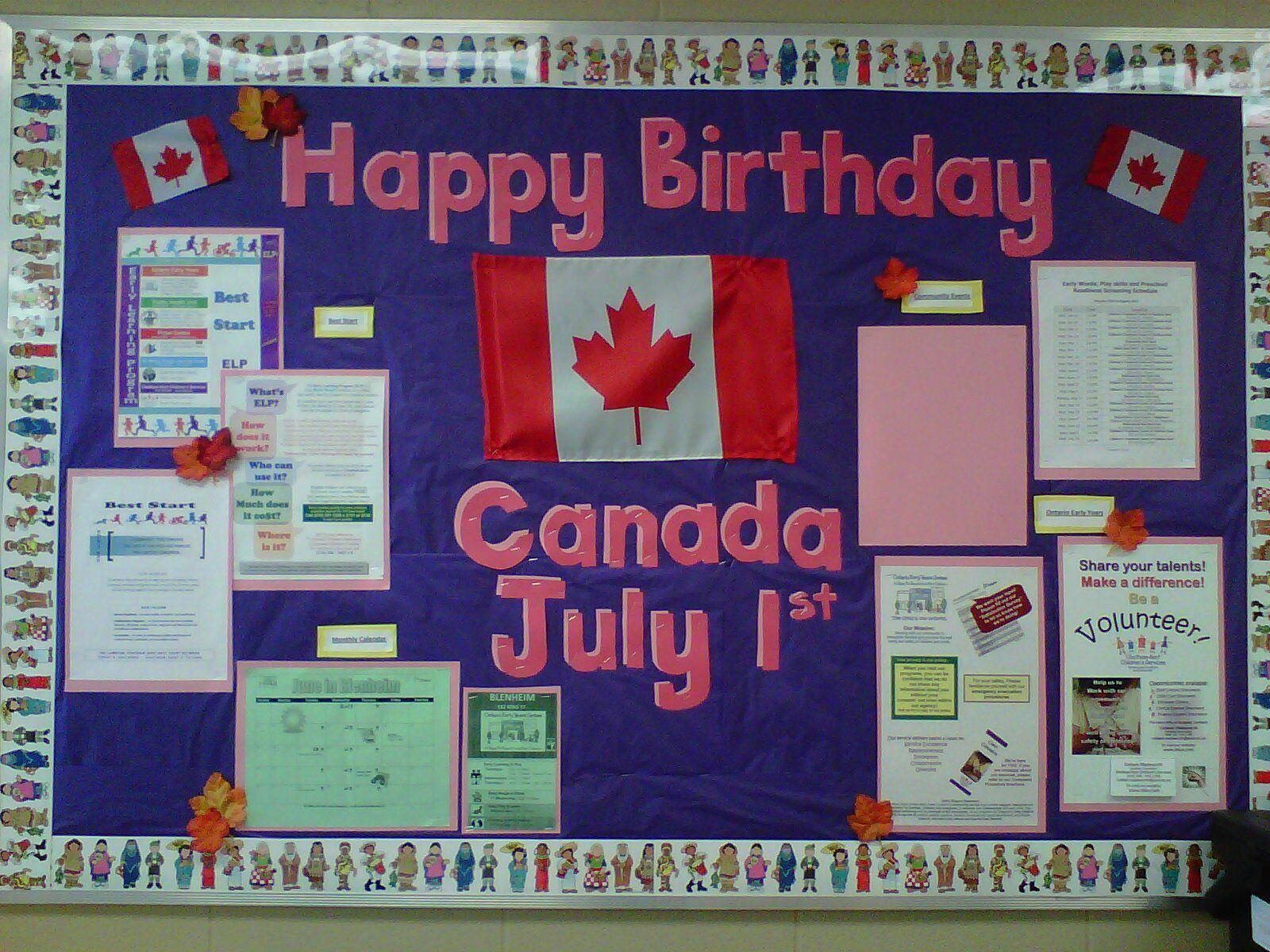 Canada Day Board 2