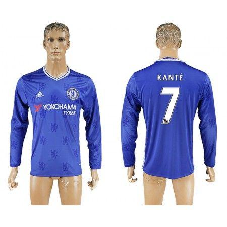 Chelsea 16-17 #Kante 7 Hemmatröja Långärmad