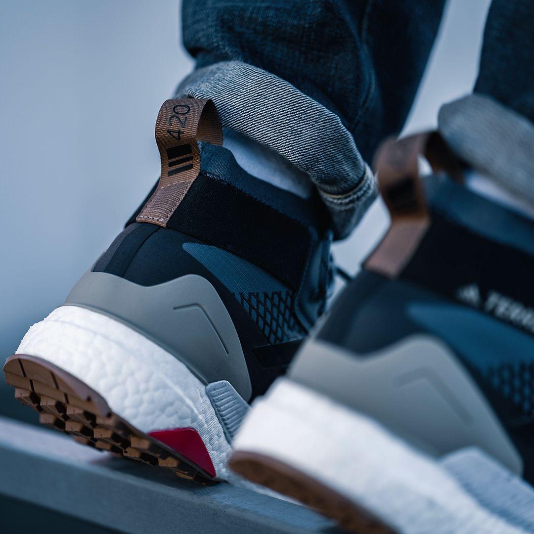 Adidas originals terrex free hiker gore gtx tex in blau