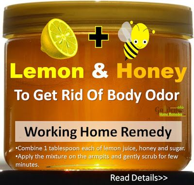 Lemon and Honey for Body Odor: How To Get Rid Of Body Odor? How to