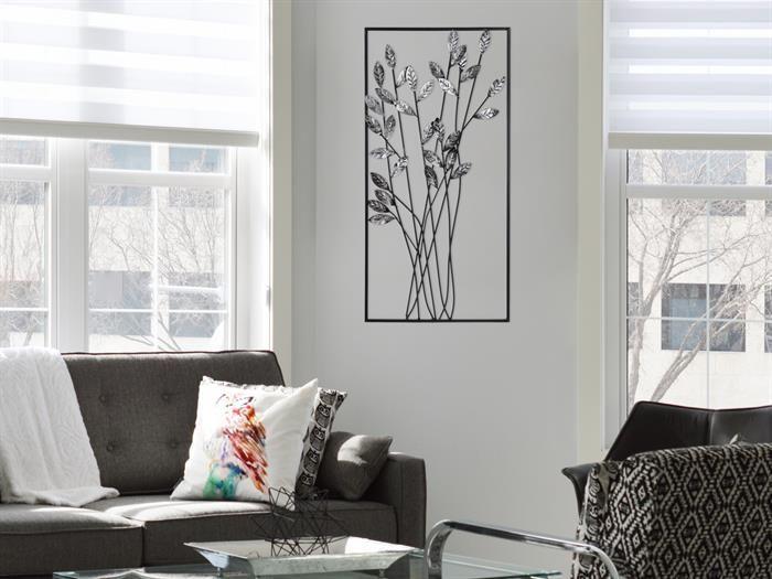 Casablanca   TWIGS   DecoART Metall Design   Wanddeko Wohnzimmer