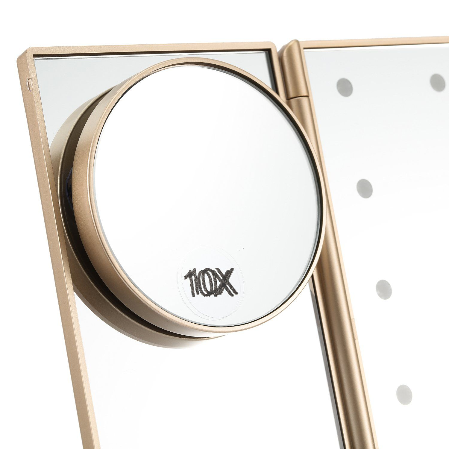 Led Lighted Makeup Mirror Magicfly 10X 3X 2X 1X Magnifying