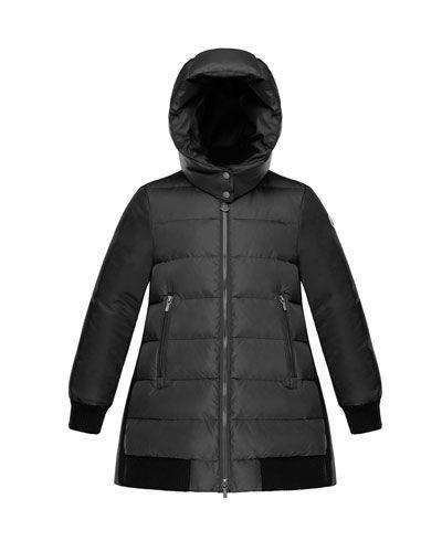 b598d2d54 Moncler Blois Quilted Coat w  Contrast Back