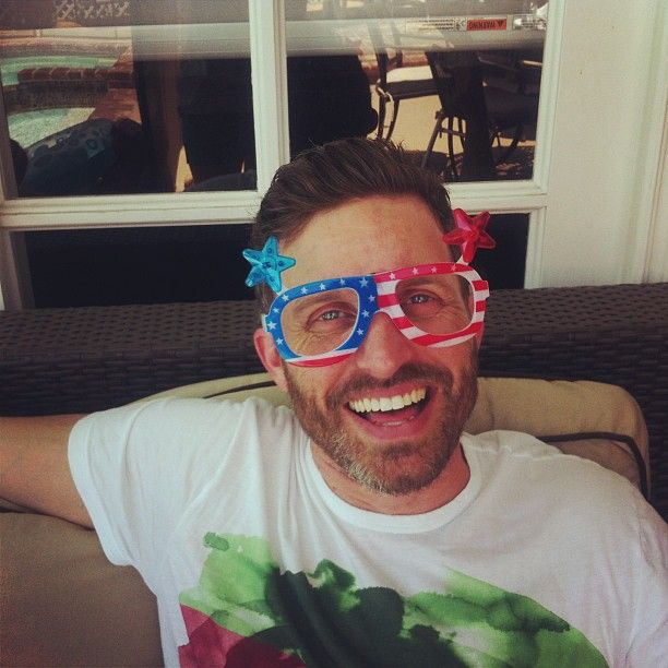 Rob Benedict ready for 4th of July!