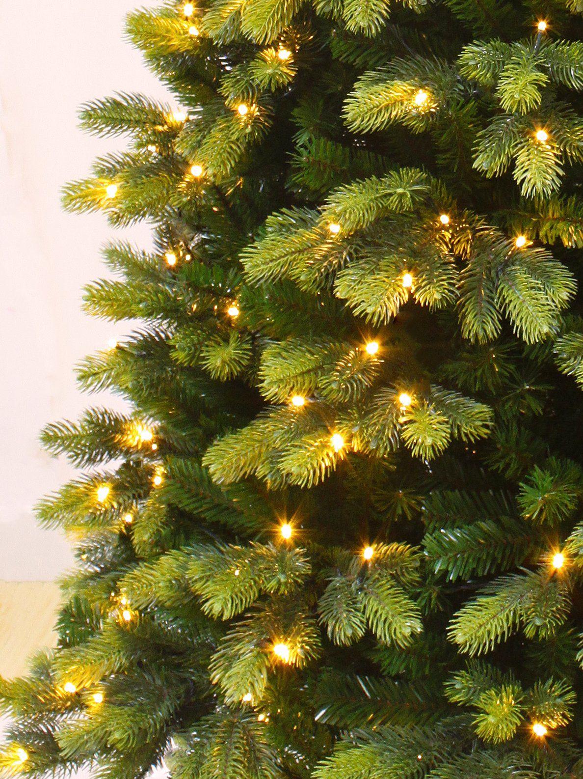 Holiday Stuff Prelit Christmas Tree Round Tip Winter Spruce Prelit Christmas Tree With Led Ligh Pre Lit Christmas Tree Christmas Tree Led Christmas Tree Lights