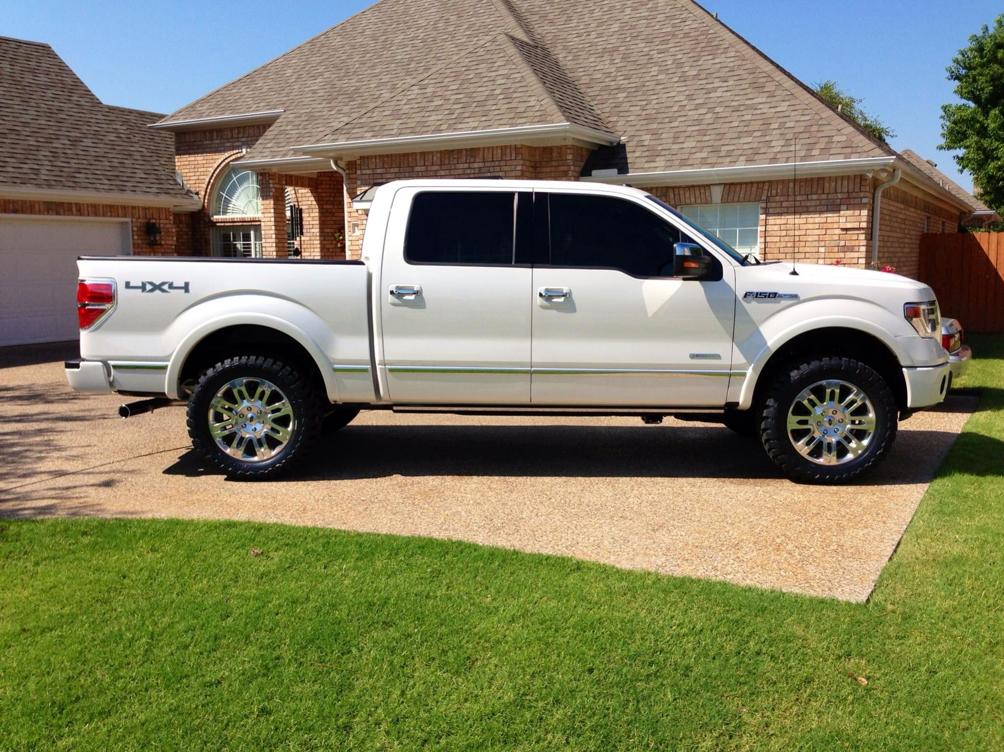 Images about trucks amp cars on pinterest ford trucks and ford trucks - Ford F150 Platinum With Leveling Kit