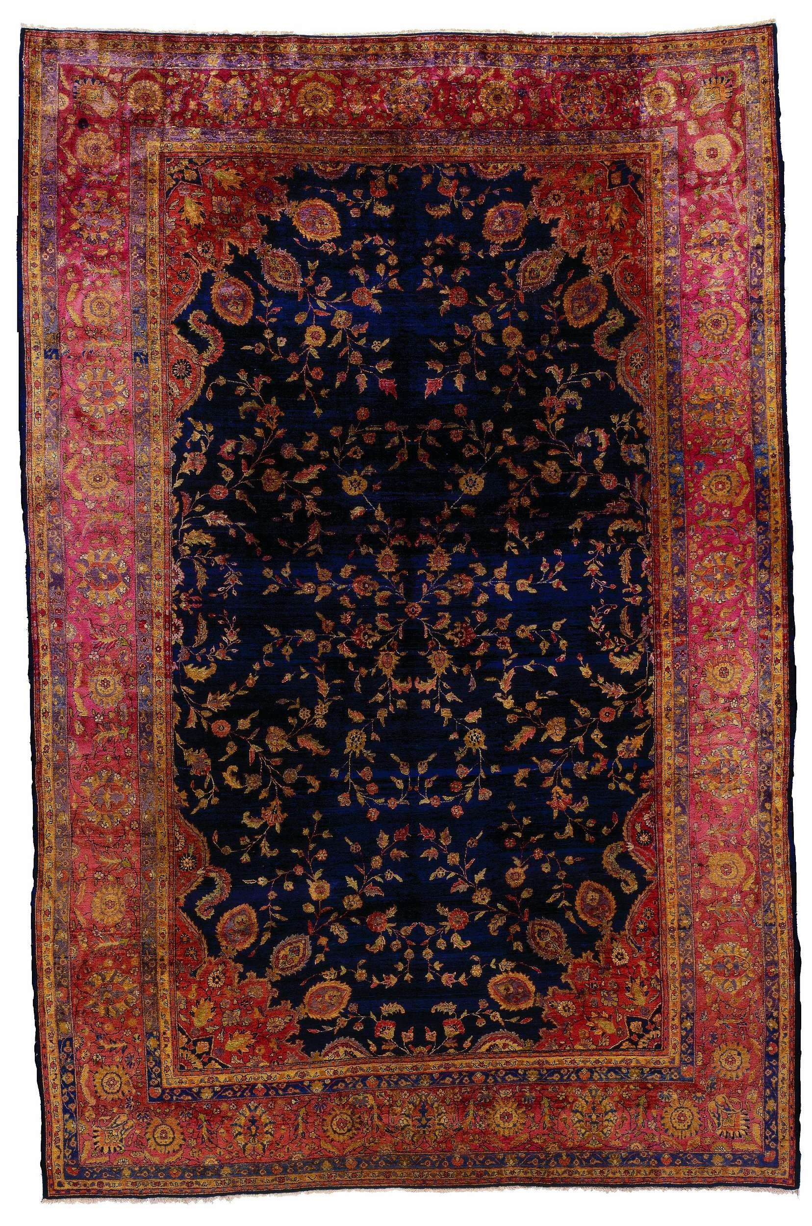 Antique Persian Saruk Area Rug 39590 Area Rug With Images