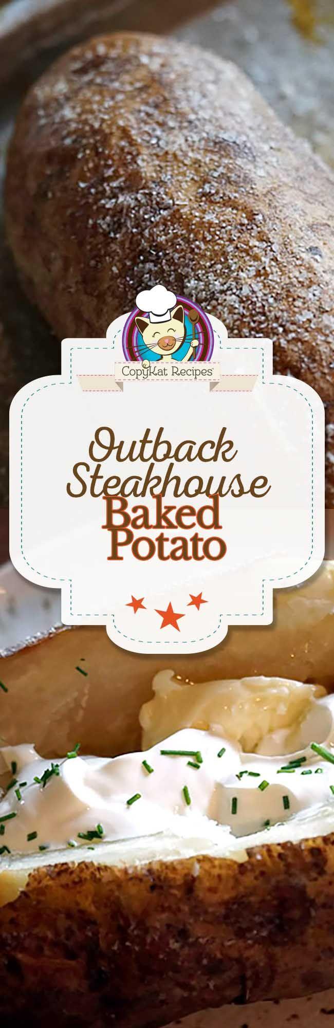 Outback Steakhouse Baked Potato Recipe Copy Cat