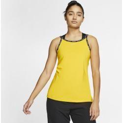 Nike Pro Women's Tank - Yellow Nike -  Nike Pro Women's Tank – Yellow Nike  - #Nike #Pro #Tank #women #Women39s #yellow #YogaFitness #YogaFlow #YogaPoses #YogaSequences