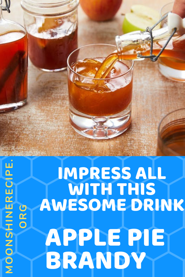 Apple Pie Brandy Cocktail Drink Recipe Impress All With