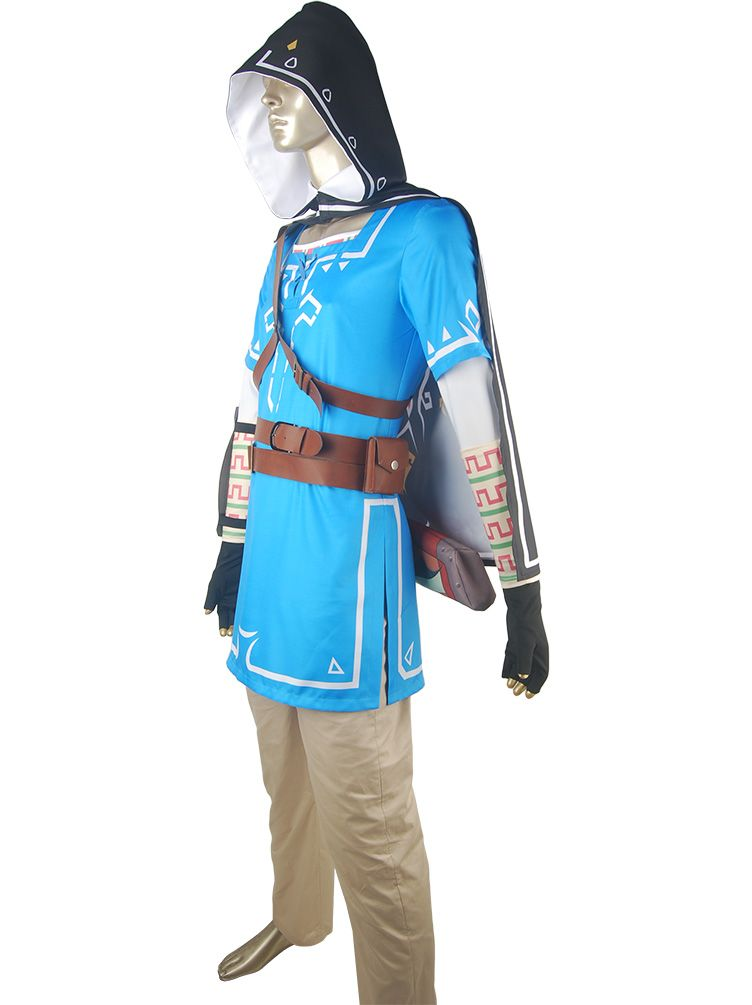 The Legend Of Zelda Breath Of The Wild Link Outfit Uniform