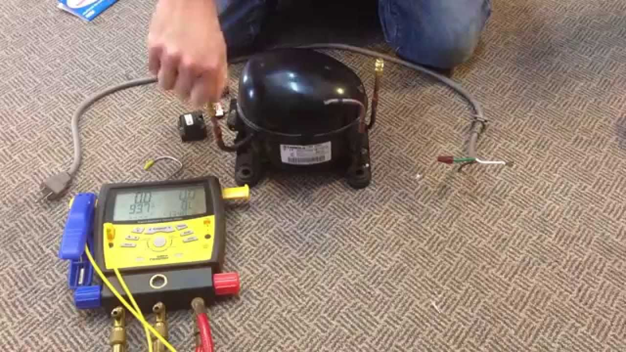 how to make a vacuum pump from old compressor youtube [ 1280 x 720 Pixel ]