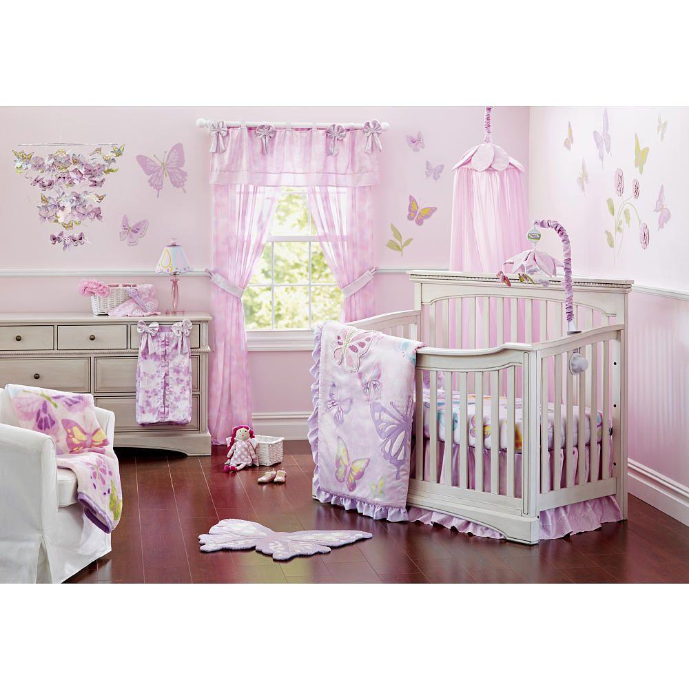 Truly Scrumptious Butterfly Wonderland 4 Piece Crib Set