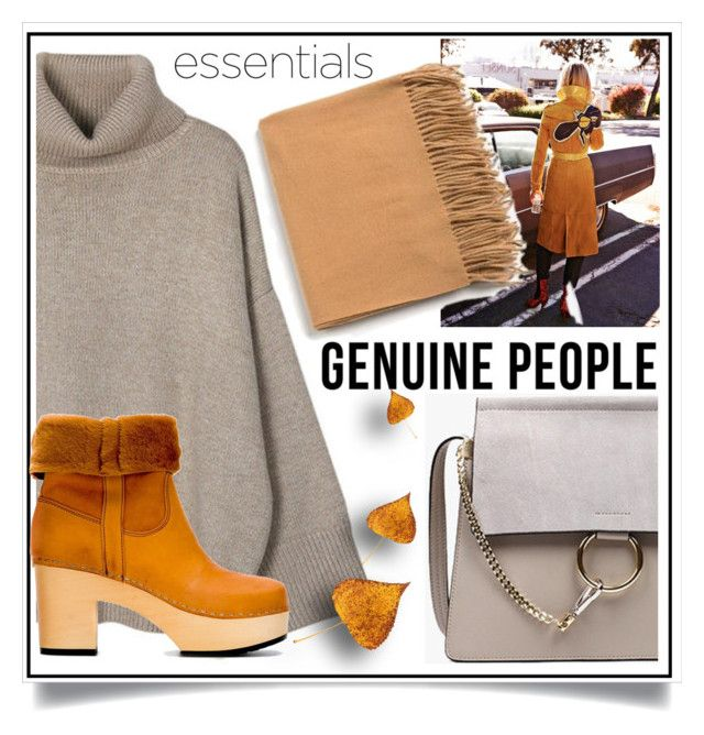 """2017 Essentials - WIN $20 with Genuine People"" by ewa-naukowicz-wojcik ❤ liked on Polyvore featuring Swedish Hasbeens"