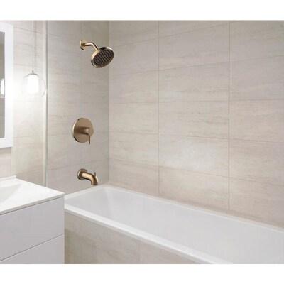 Jacuzzi Duncan Brushed Bronze 1 Handle Residential Mixer Bathtub Faucet At Lowes Com Bathtub Faucet Bathtub Faucet