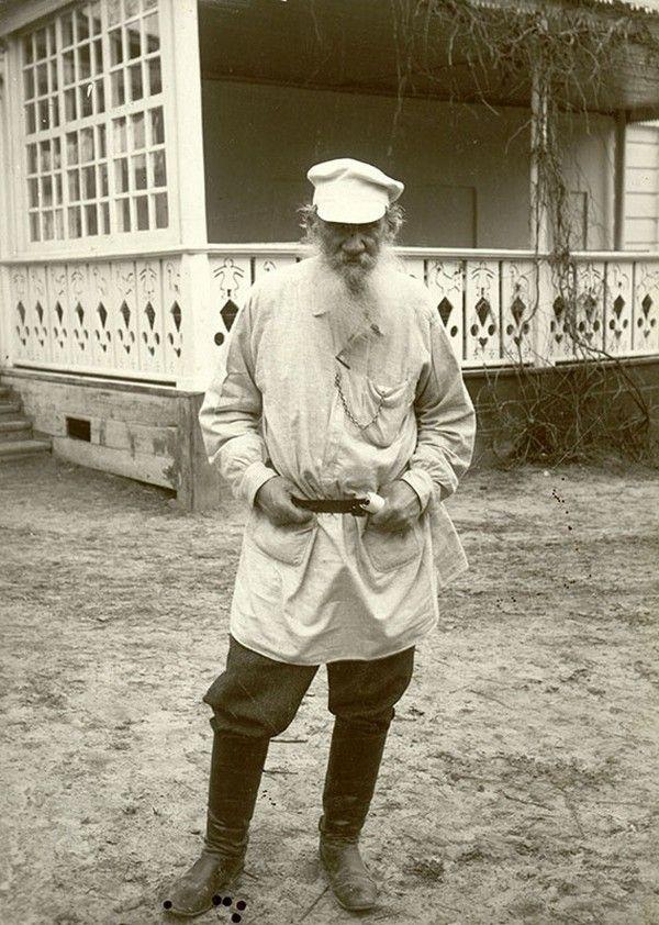 Будни Л. Н. Толстого в редких фотографиях. | Редкие ...
