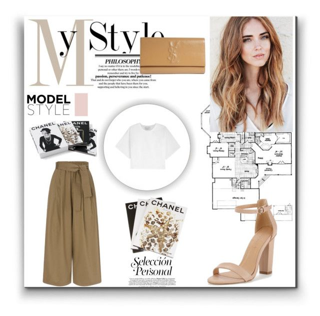 """""""My Style"""" by zooee-gooseex0x0 ❤ liked on Polyvore featuring Yves Saint Laurent, 3.1 Phillip Lim, Tome, Assouline Publishing, Chanel and MyStyle"""