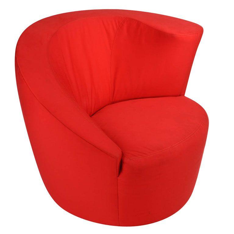 Awesome Nautilus Chair By Vladimir Kagan
