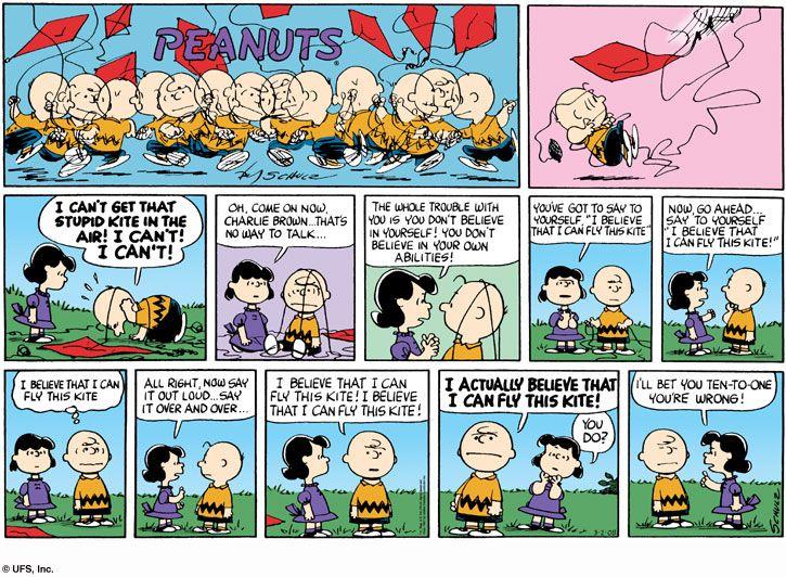 charlie brown comic strip - Buscar con Google