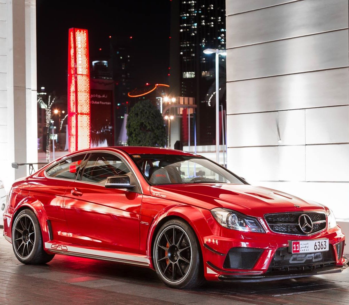 Mercedes Benz C63 Black Series From GAD Design Www