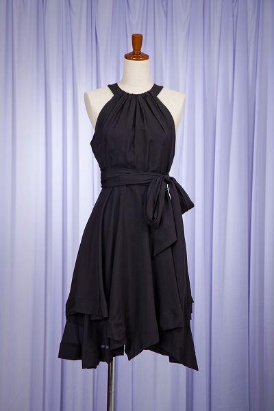 70ff6efe225c1 GUCCI (グッチ) ブラックドレス|結婚式二次会やパーティードレスのレンタルはドレスティーク 東京・恵比寿