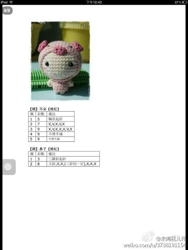 变装娃娃 7 | Amigurumi dolls | Pinterest | Patrones amigurumi ...