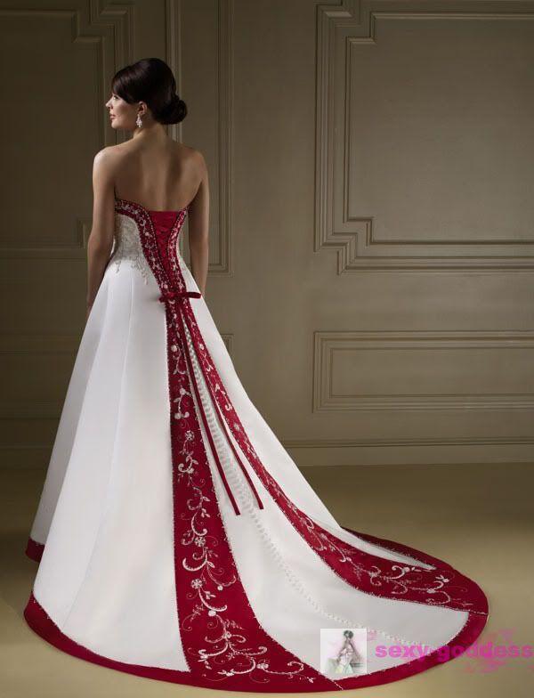 New White Wedding Dress Gorgeous Bridal Gown Stock Size 6 8 10 12 14 16 18
