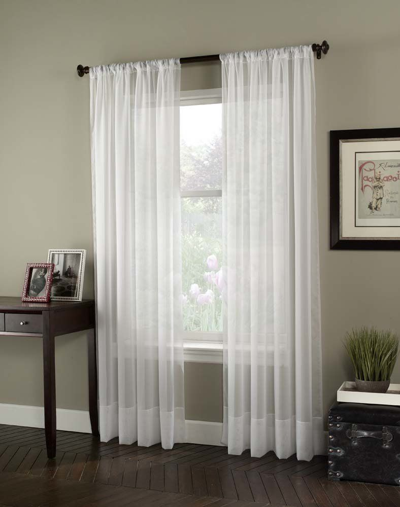 Soho voile single curtain panel products pinterest products