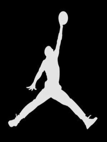 reputable site f892f c3c30 jordan sign print   Air Jordan Logo Wallpaper   iPhone   Blackberry