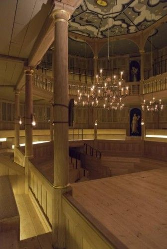 Inside The Globe's New Candlelit Theatre | Londonist