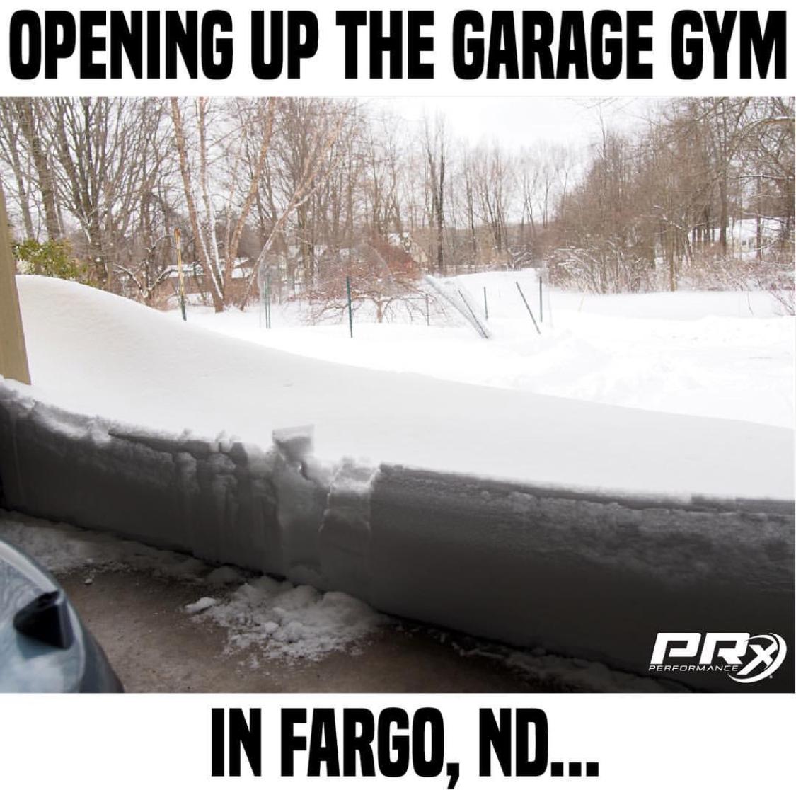 Start a garage gym they said it ll be fun they said gym humor