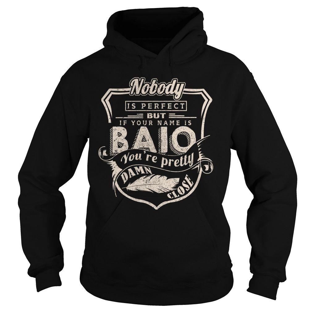 BAIO T Shirts, Hoodies. Check price ==► https://www.sunfrog.com/LifeStyle/BAIO-98096108-Black-Hoodie.html?41382 $39.99