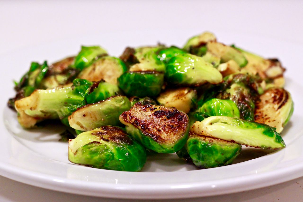 """Eat your brussel sprouts!"" said the TV parent."