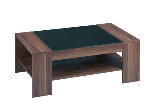 Couchtisch In Nussbaum Nachbildung Und Tischplatte Aus Esg