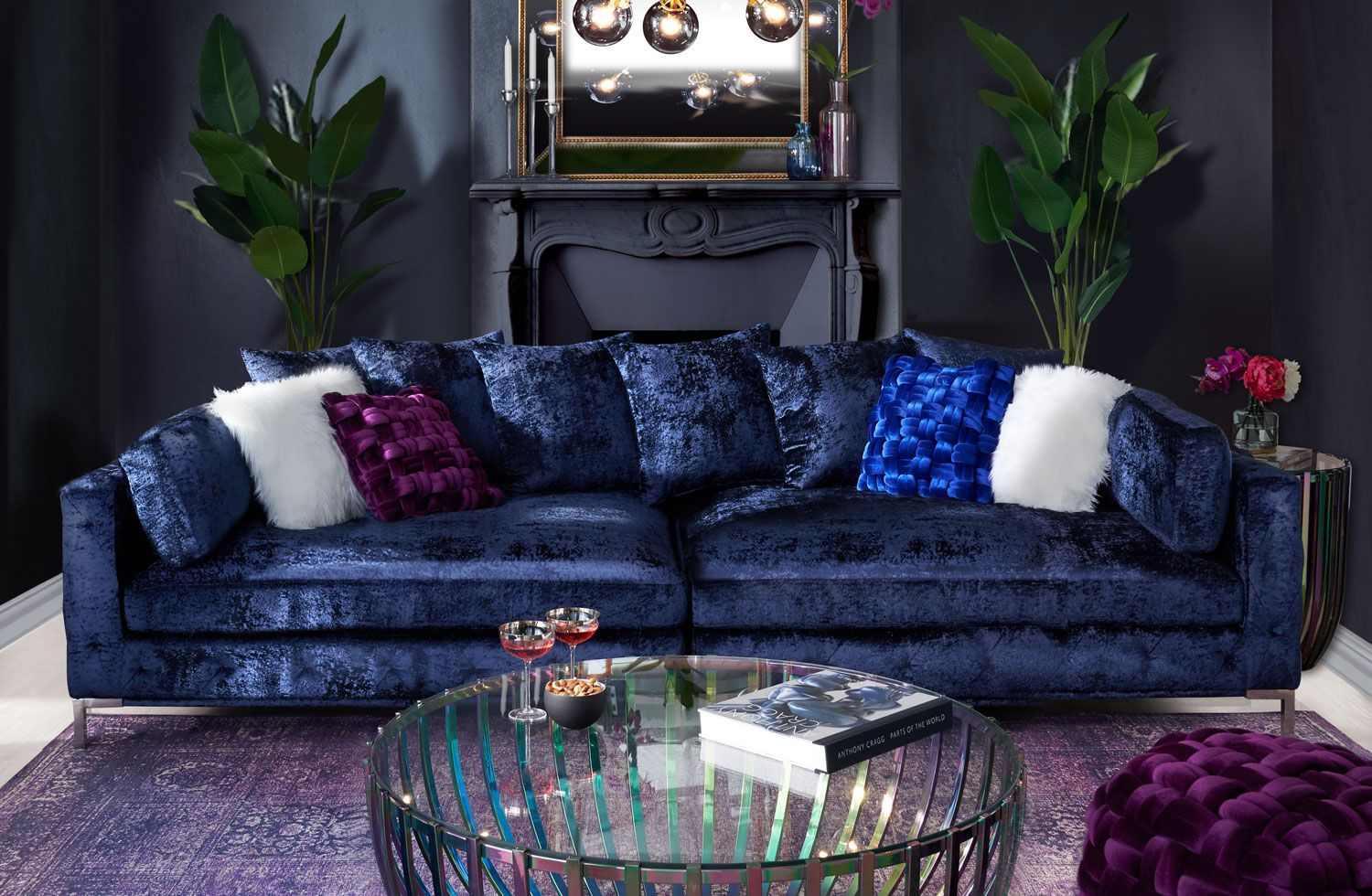 The Milan Collection Value City Furniture And Mattresses In 2020 Furniture Value City Furniture Living Room Seating