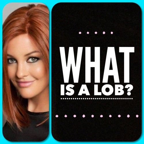 """Have you heard the term """"lob,"""" and wondered what it meant? Learn all about what a lob haircut is and what the difference between a lob and a bob is."""