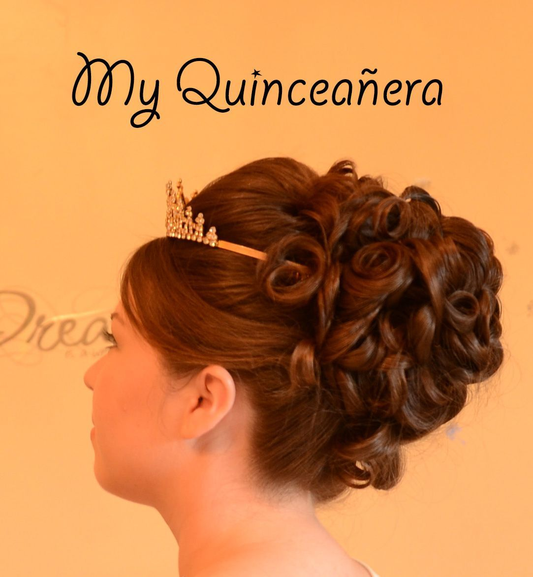 Gorgeous traditional updo for quinceaneras free quince website