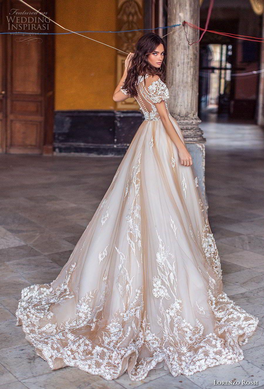 Lorenzo rossi wedding dresses u uchavanaud bridal campaign in