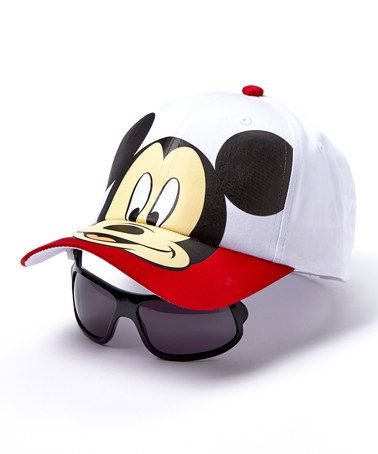 Love this Disney Mickey Baseball Cap   Sunglasses on  zulily!  zulilyfinds 228dd9d2e1