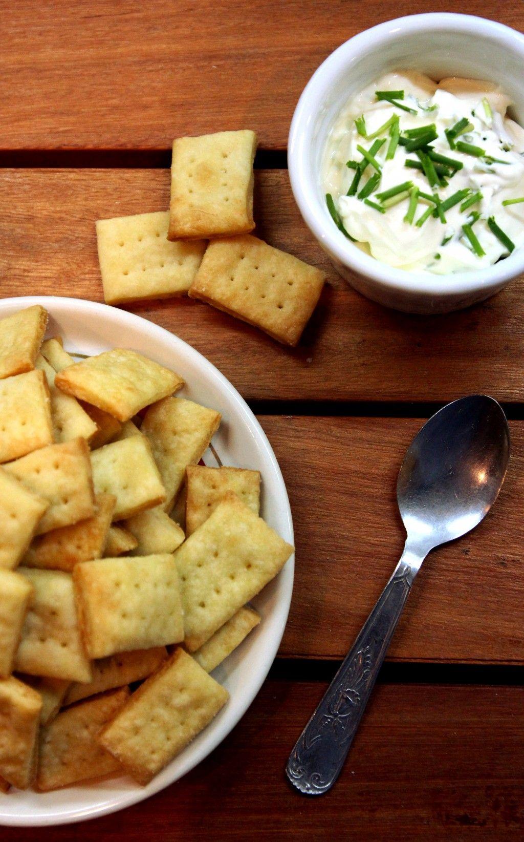 Parmesan Cream Crackers   Childhood memories