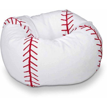 Sports Bean Bag Chair Baseball Walmart Com Boys Baseball Bedroom Baseball Room Baseball Bedroom