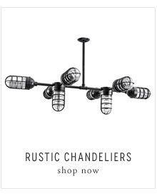 Introducting Rustic Chandeliers