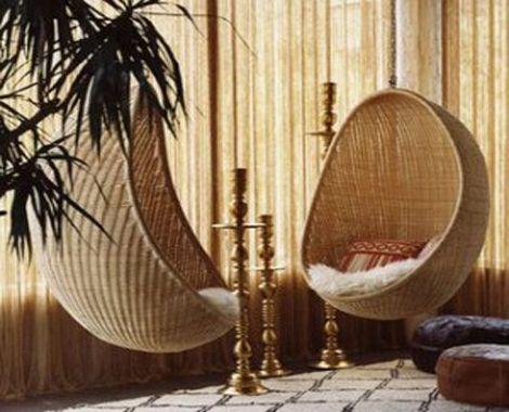 Sentarse en un huevo colgante columpios Pinterest Colgantes