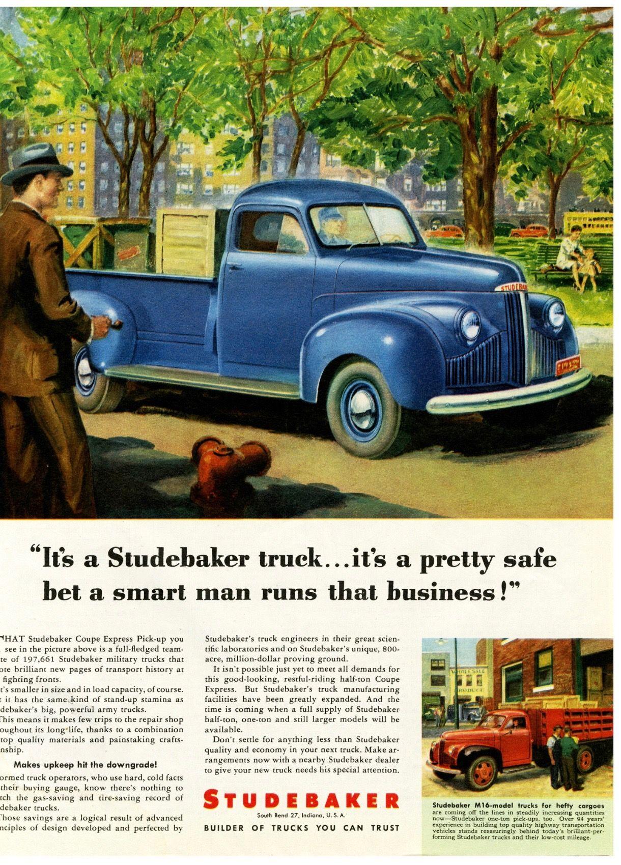 Studebaker Trucks | Studebaker | Pinterest | Cars and Ad car