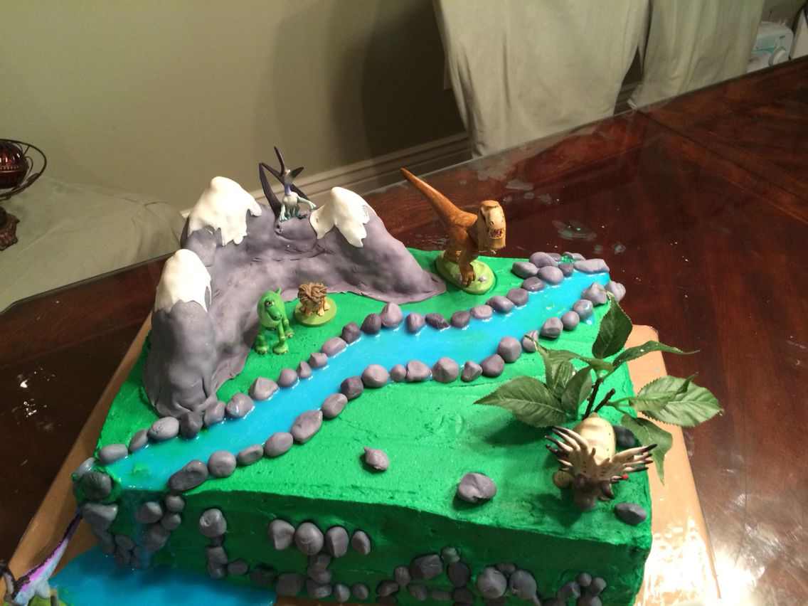 The Good Dinosaur Cakes Pinterest Birthdays Birthday stuff