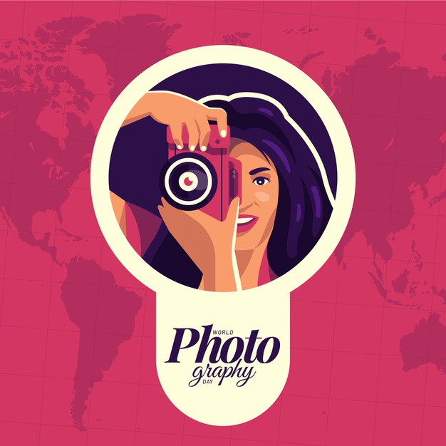 Download World Photography Day With Female Photographer For Free World Photography World Photography Day Photography Day