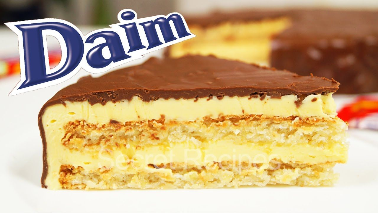 Daim Kuchen Food Thats Good Ikea Daim Torte Summer